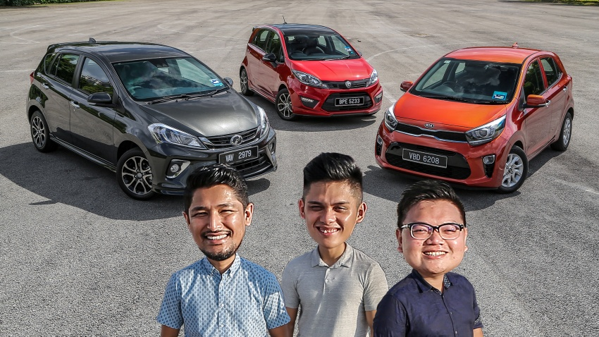 Driven Web Series 2018: family hatchbacks in Malaysia – 2018 Perodua Myvi vs Proton Iriz vs Kia Picanto! Image #800206