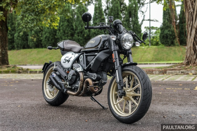 Enjoyable Review 2017 Ducati Scrambler Cafe Racer Rm68 999 Caraccident5 Cool Chair Designs And Ideas Caraccident5Info