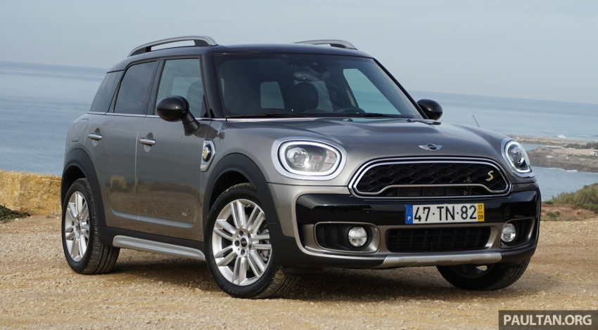 DRIVEN: F60 MINI Cooper S E Countryman All4 PHEV Image #799390