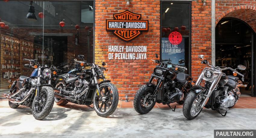 Harley-Davidson Petaling Jaya dibuka secara rasmi Image #788972