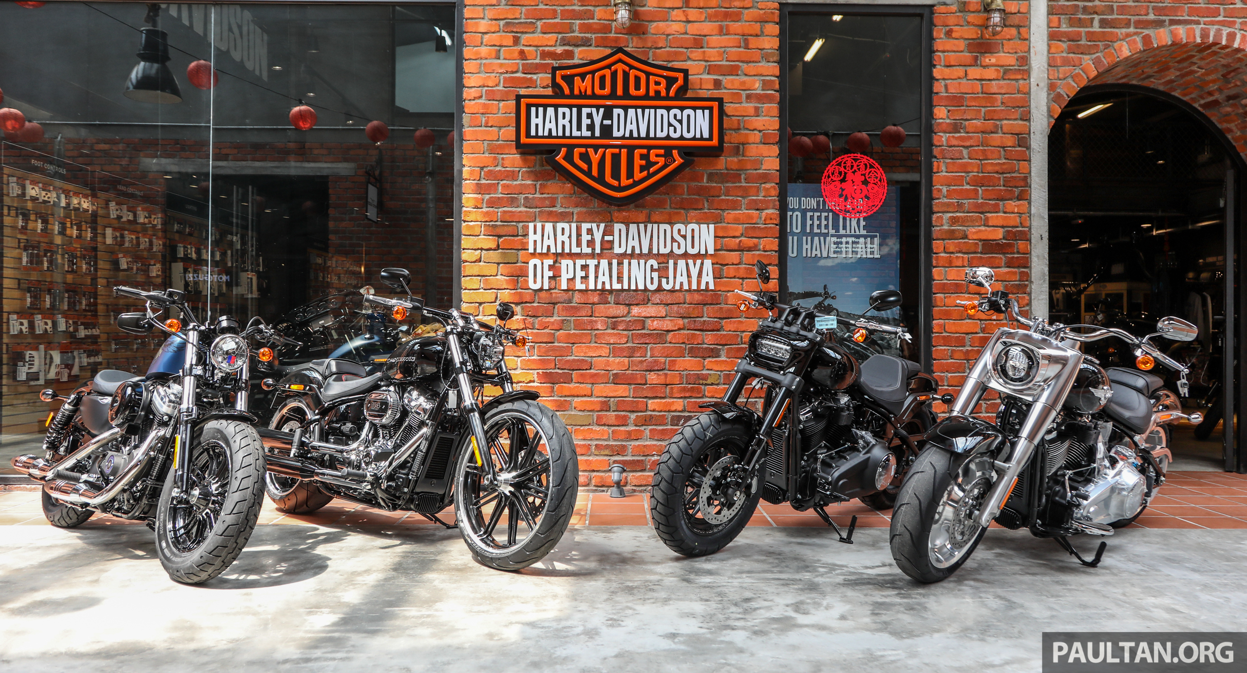 2018 Harley-Davidson Malaysia prices - from RM56k