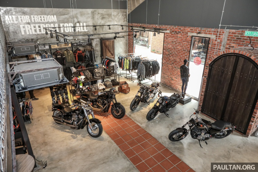Harley-Davidson Petaling Jaya dibuka secara rasmi Image #788973