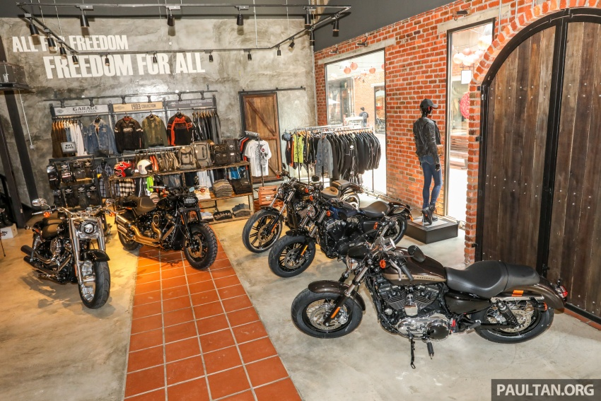 Harley-Davidson Petaling Jaya dibuka secara rasmi Image #788975