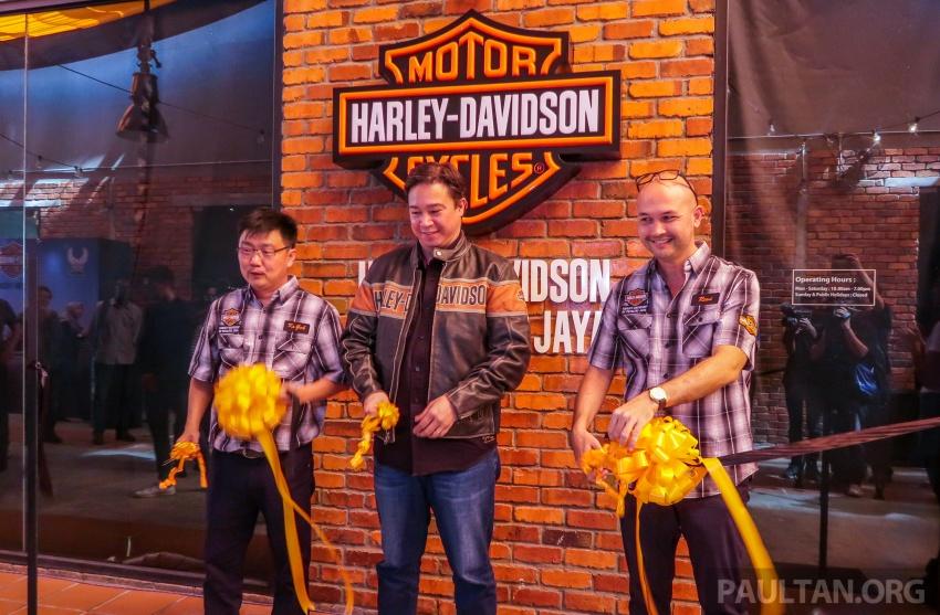 Harley-Davidson of Petaling Jaya officially opens Image #788956
