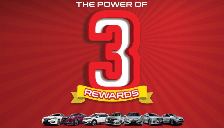 Honda M'sia anjur kempen 'The Power of 3 Rewards' sehingga 31 Mac – ganjaran sehingga RM9,000 Image #788900