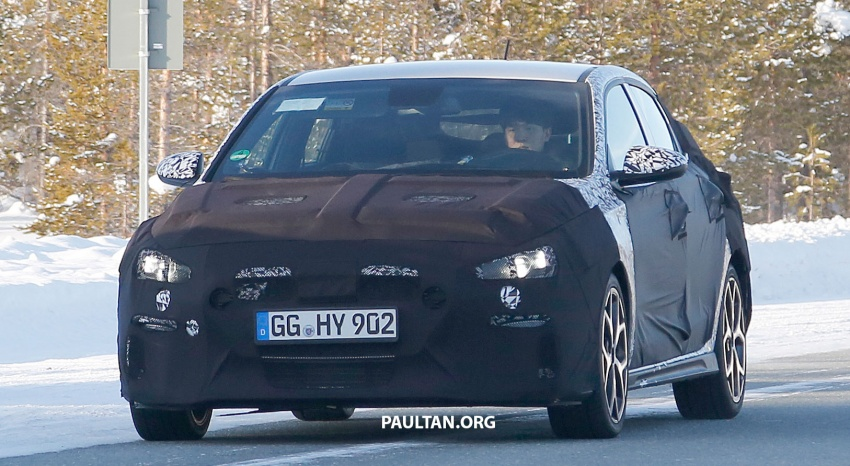 SPYSHOTS: Hyundai i30 N Fastback spotted testing Image #784839