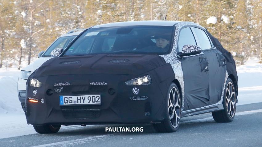 SPYSHOTS: Hyundai i30 N Fastback spotted testing Image #784840