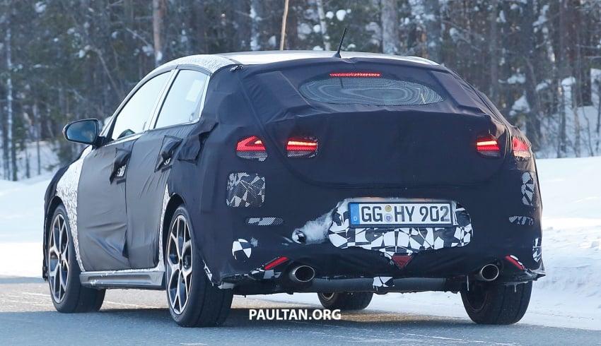 SPYSHOTS: Hyundai i30 N Fastback spotted testing Image #784848