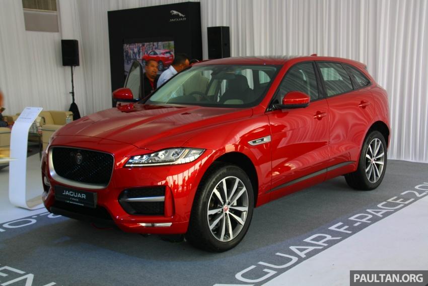 Jaguar F-Pace 2.0L Ingenium di M'sia – bawah RM500k Image #793207