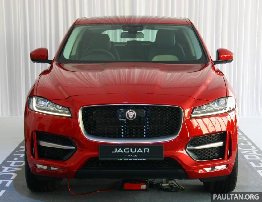 Jaguar F-Pace 2.0L Ingenium di M'sia – bawah RM500k Image #793210