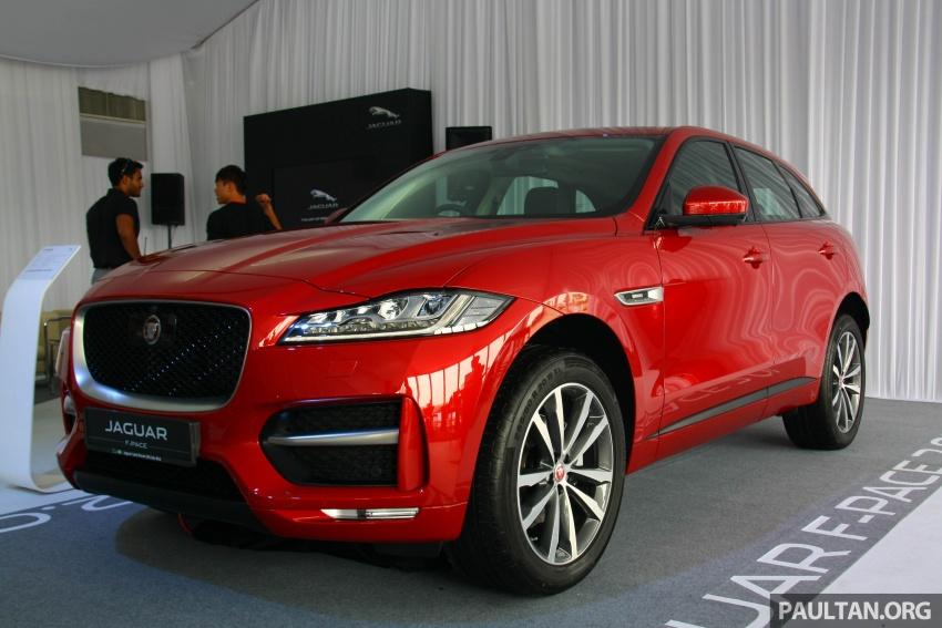 Jaguar F-Pace 2.0L Ingenium di M'sia – bawah RM500k Image #793264