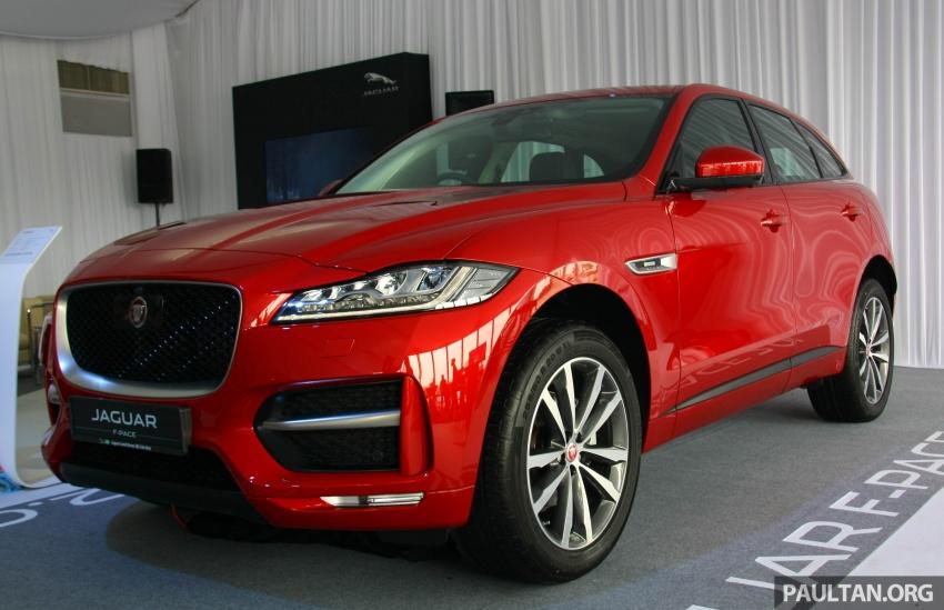 Jaguar F-Pace 2.0L Ingenium in M'sia, under RM500k Image #792171