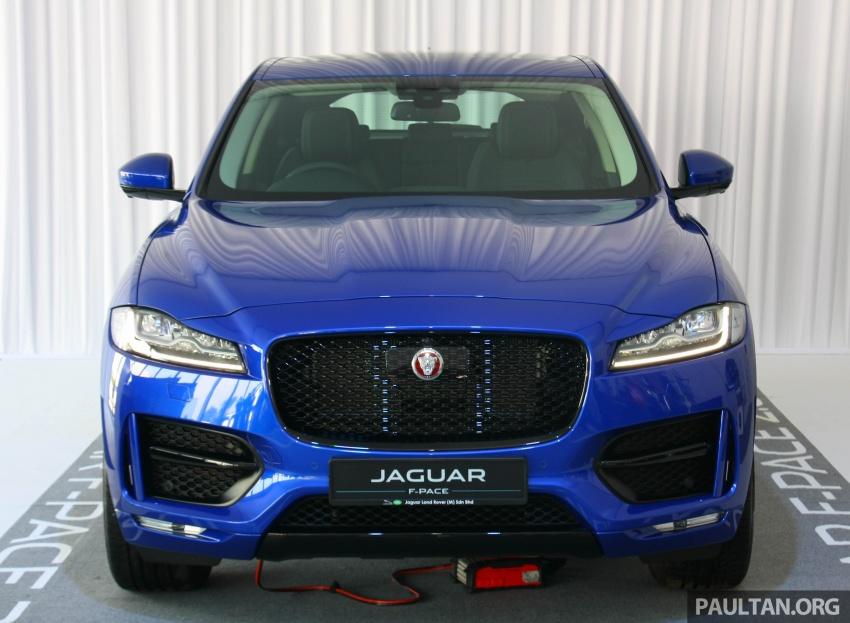Jaguar F-Pace 2.0L Ingenium in M'sia, under RM500k Image #792319