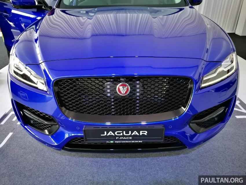 Jaguar F-Pace 2.0L Ingenium in M'sia, under RM500k Image #792371