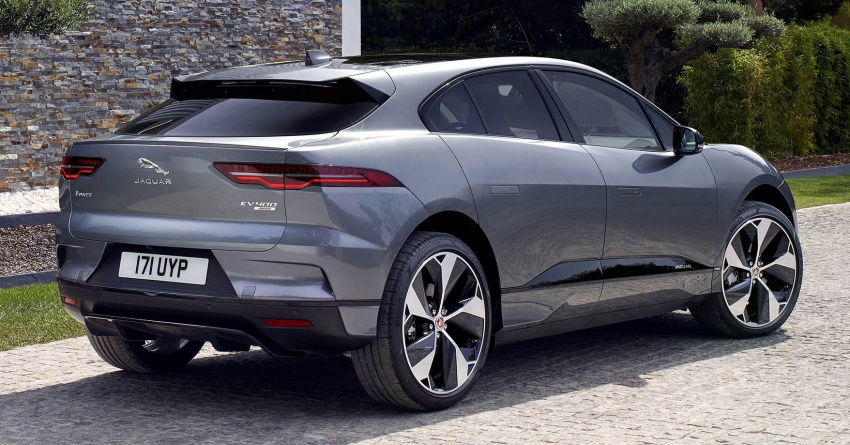 Jaguar I-Pace – brand's first all-electric vehicle debuts with 400 PS, 0-100 km/h in 4.8 seconds, 480 km range Image #784911