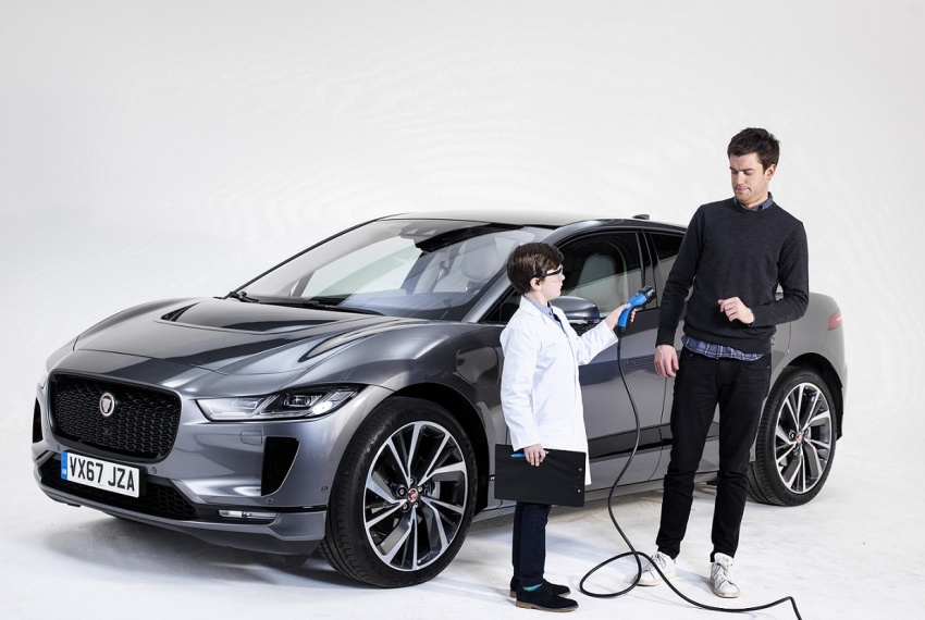 Jaguar I-Pace – brand's first all-electric vehicle debuts with 400 PS, 0-100 km/h in 4.8 seconds, 480 km range Image #785021