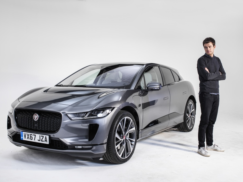 Jaguar I-Pace – brand's first all-electric vehicle debuts with 400 PS, 0-100 km/h in 4.8 seconds, 480 km range Image #785022