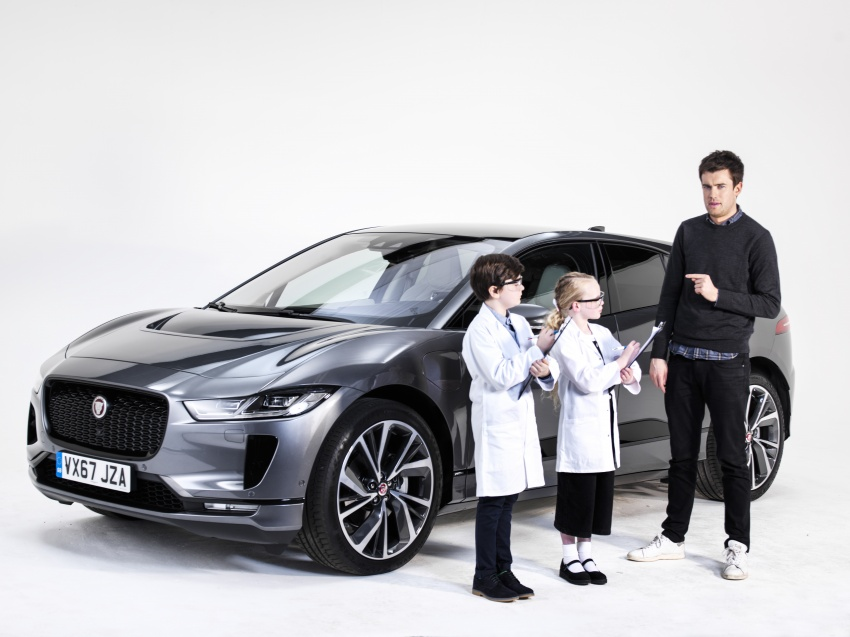 Jaguar I-Pace – brand's first all-electric vehicle debuts with 400 PS, 0-100 km/h in 4.8 seconds, 480 km range Image #785024