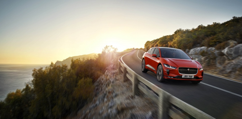 Jaguar I-Pace – brand's first all-electric vehicle debuts with 400 PS, 0-100 km/h in 4.8 seconds, 480 km range Image #784921