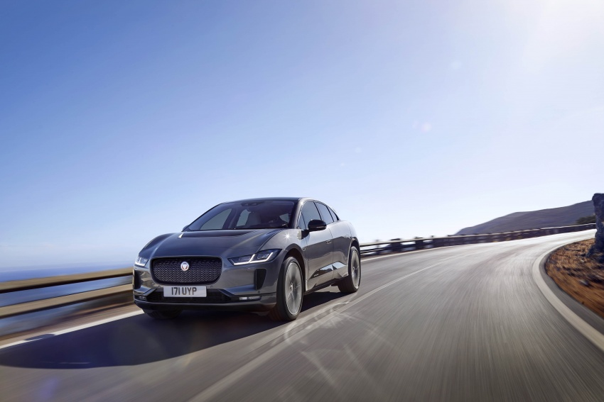 Jaguar I-Pace – brand's first all-electric vehicle debuts with 400 PS, 0-100 km/h in 4.8 seconds, 480 km range Image #784925