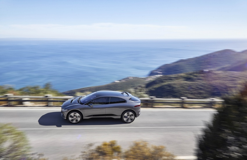 Jaguar I-Pace – brand's first all-electric vehicle debuts with 400 PS, 0-100 km/h in 4.8 seconds, 480 km range Image #784927