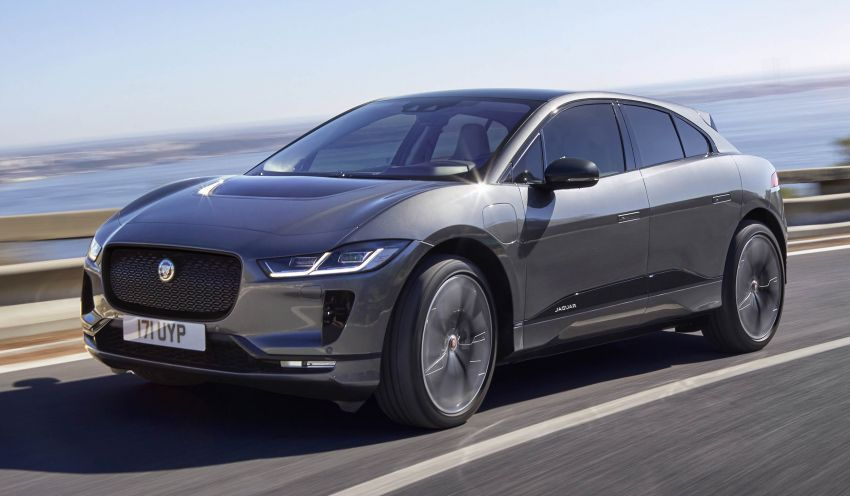Jaguar I-Pace – brand's first all-electric vehicle debuts with 400 PS, 0-100 km/h in 4.8 seconds, 480 km range Image #784928