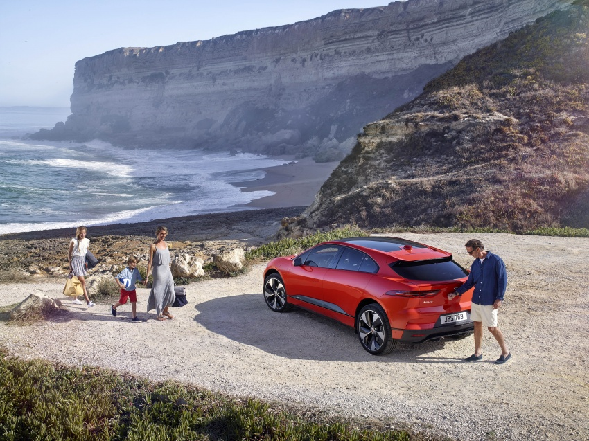 Jaguar I-Pace – brand's first all-electric vehicle debuts with 400 PS, 0-100 km/h in 4.8 seconds, 480 km range Image #784903
