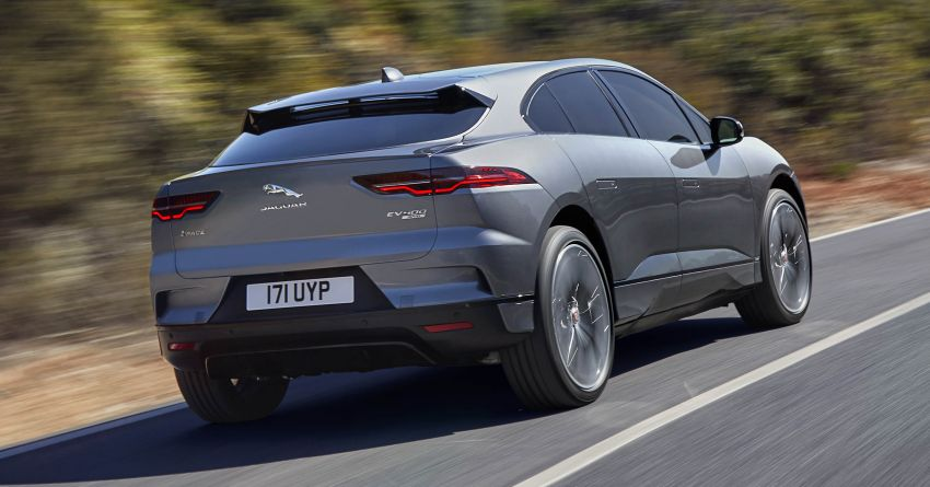 Jaguar I-Pace – brand's first all-electric vehicle debuts with 400 PS, 0-100 km/h in 4.8 seconds, 480 km range Image #784931