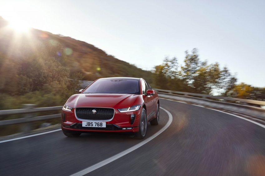 Jaguar I-Pace – brand's first all-electric vehicle debuts with 400 PS, 0-100 km/h in 4.8 seconds, 480 km range Image #784937