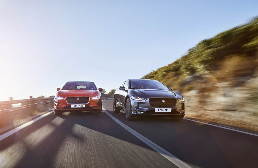Jaguar I-Pace – brand's first all-electric vehicle debuts with 400 PS, 0-100 km/h in 4.8 seconds, 480 km range Image #784938