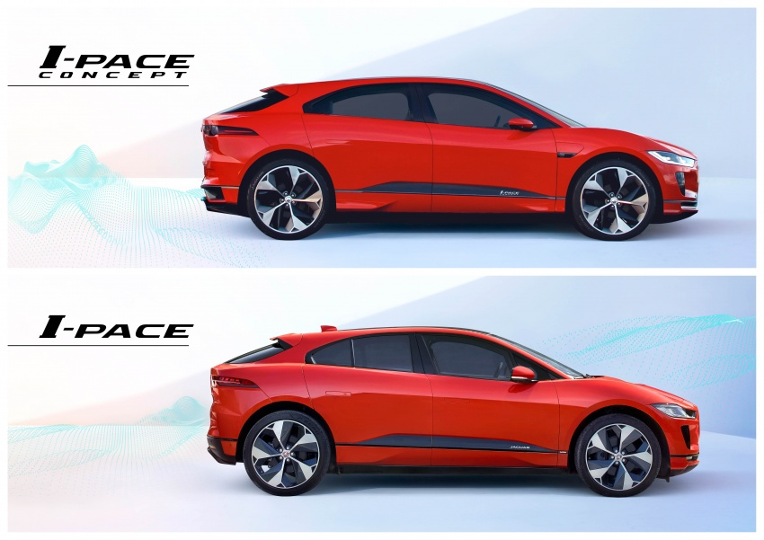 Jaguar I-Pace – brand's first all-electric vehicle debuts with 400 PS, 0-100 km/h in 4.8 seconds, 480 km range Image #784939