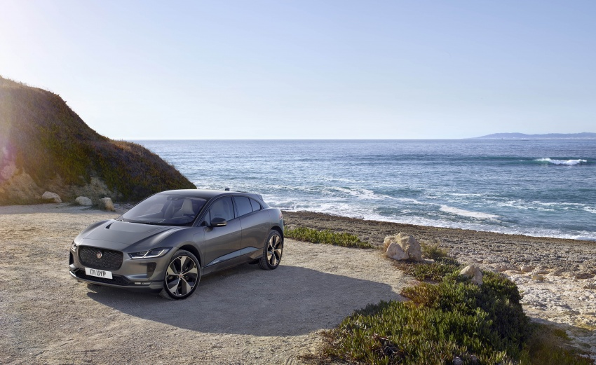 Jaguar I-Pace – brand's first all-electric vehicle debuts with 400 PS, 0-100 km/h in 4.8 seconds, 480 km range Image #784904