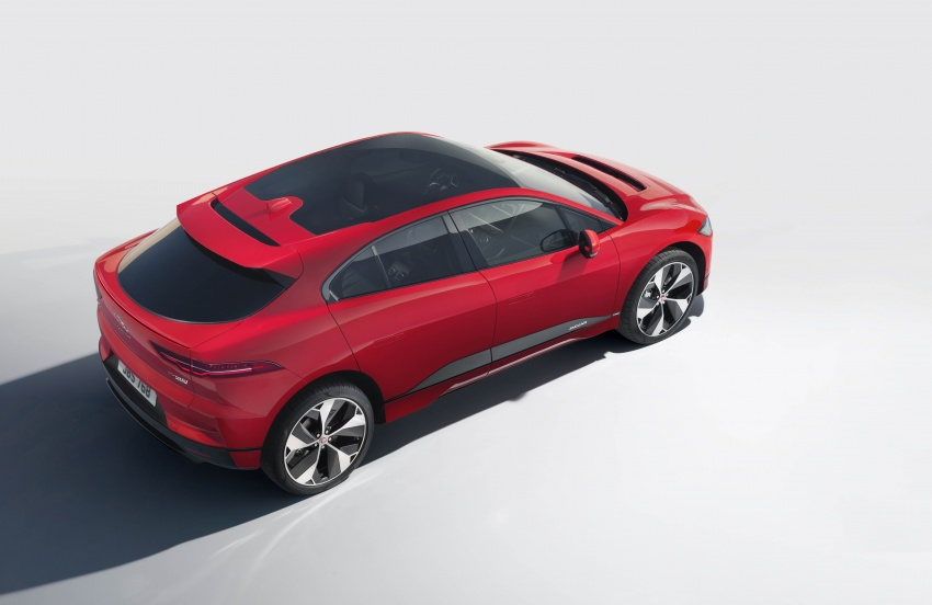 Jaguar I-Pace – brand's first all-electric vehicle debuts with 400 PS, 0-100 km/h in 4.8 seconds, 480 km range Image #784945