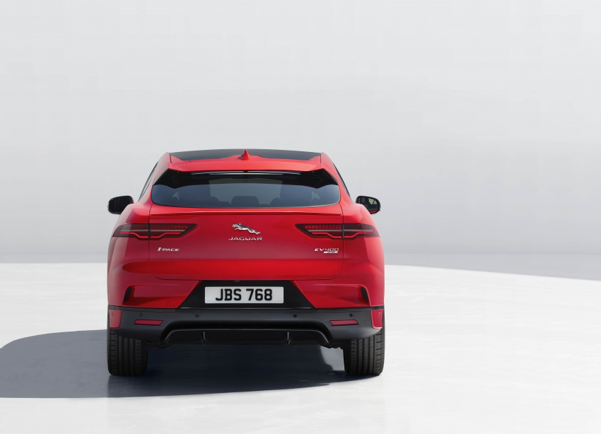 Jaguar I-Pace – brand's first all-electric vehicle debuts with 400 PS, 0-100 km/h in 4.8 seconds, 480 km range Image #784946