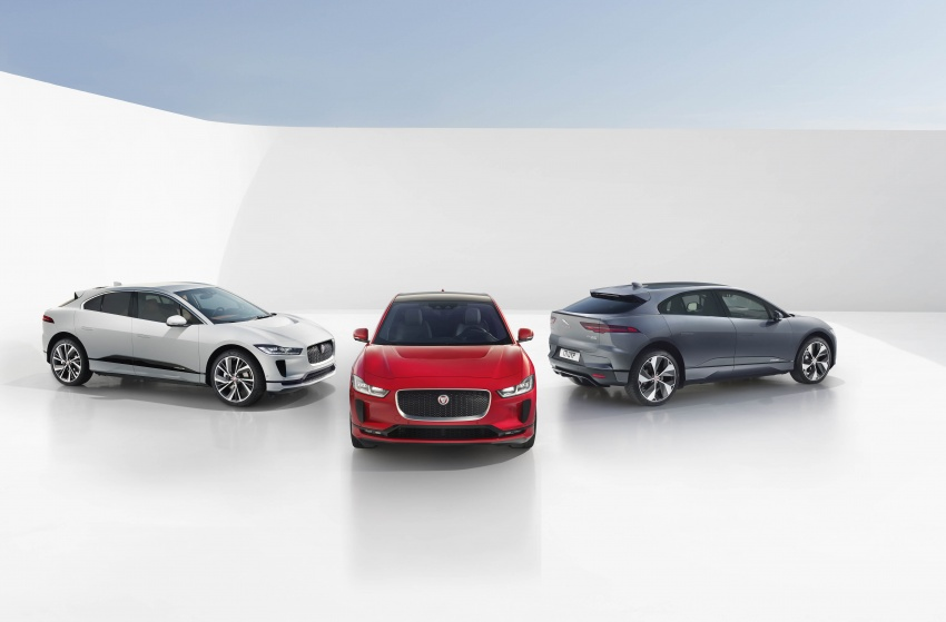 Jaguar I-Pace – brand's first all-electric vehicle debuts with 400 PS, 0-100 km/h in 4.8 seconds, 480 km range Image #784949