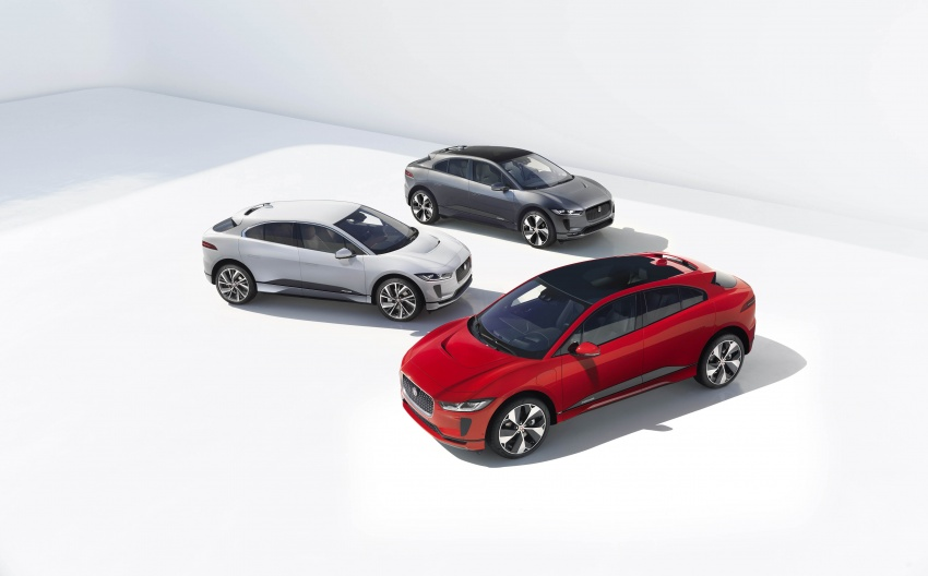 Jaguar I-Pace – brand's first all-electric vehicle debuts with 400 PS, 0-100 km/h in 4.8 seconds, 480 km range Image #784950