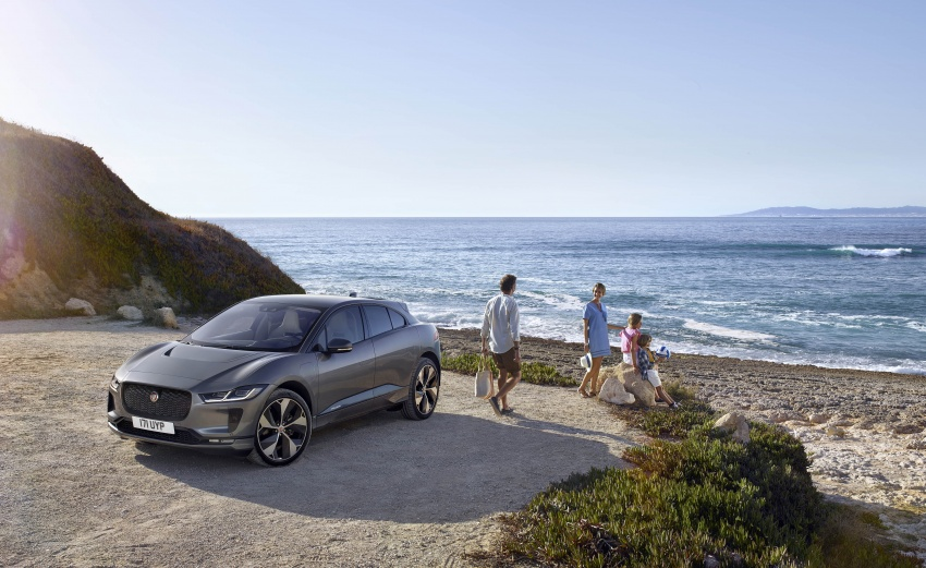 Jaguar I-Pace – brand's first all-electric vehicle debuts with 400 PS, 0-100 km/h in 4.8 seconds, 480 km range Image #784905