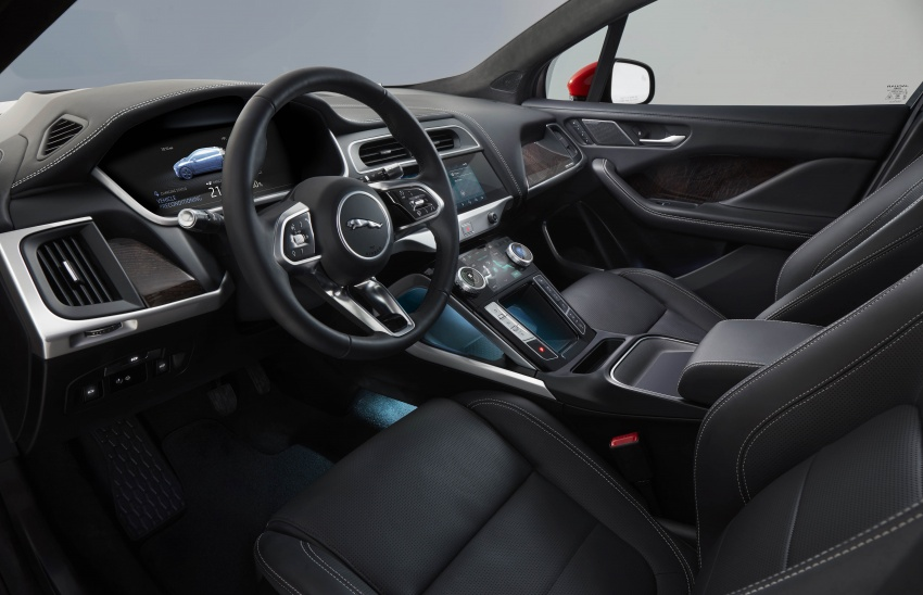 Jaguar I-Pace – brand's first all-electric vehicle debuts with 400 PS, 0-100 km/h in 4.8 seconds, 480 km range Image #784955