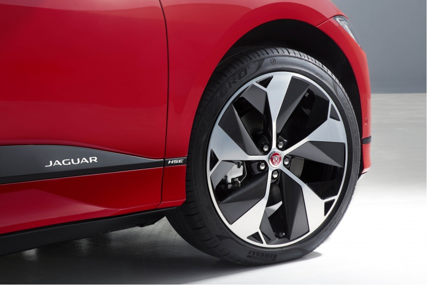 Jaguar I-Pace – brand's first all-electric vehicle debuts with 400 PS, 0-100 km/h in 4.8 seconds, 480 km range Image #784967