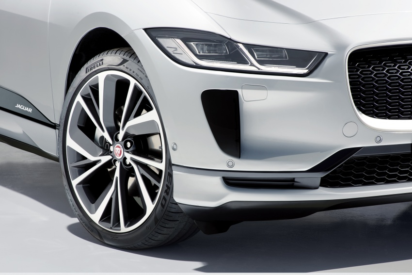 Jaguar I-Pace – brand's first all-electric vehicle debuts with 400 PS, 0-100 km/h in 4.8 seconds, 480 km range Image #784977
