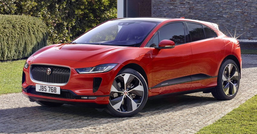 Jaguar I-Pace – brand's first all-electric vehicle debuts with 400 PS, 0-100 km/h in 4.8 seconds, 480 km range Image #784907