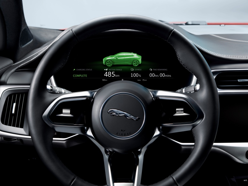 Jaguar I-Pace – brand's first all-electric vehicle debuts with 400 PS, 0-100 km/h in 4.8 seconds, 480 km range Image #784992
