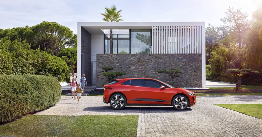 Jaguar I-Pace – brand's first all-electric vehicle debuts with 400 PS, 0-100 km/h in 4.8 seconds, 480 km range Image #784910
