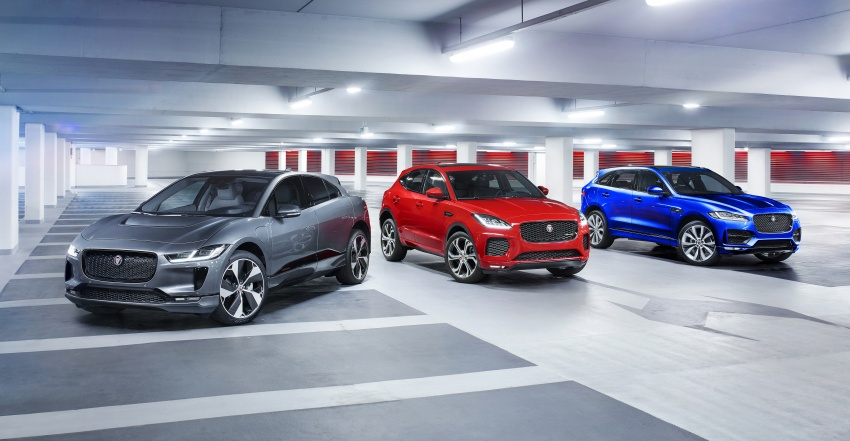 Jaguar I-Pace – brand's first all-electric vehicle debuts with 400 PS, 0-100 km/h in 4.8 seconds, 480 km range Image #785054