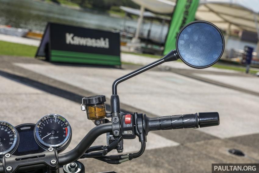 PANDANGAN AWAL: Kawasaki Z900RS – rupa sahaja klasik, tapi kualiti tunggangan dan kelengkapan moden Image #790687
