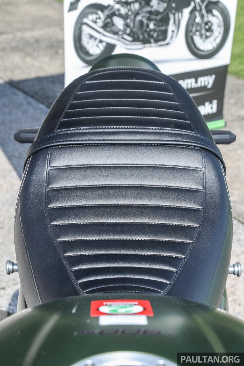 PANDANGAN AWAL: Kawasaki Z900RS – rupa sahaja klasik, tapi kualiti tunggangan dan kelengkapan moden Image #790693