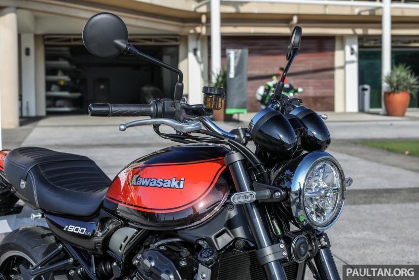 PANDANGAN AWAL: Kawasaki Z900RS – rupa sahaja klasik, tapi kualiti tunggangan dan kelengkapan moden Image #790605