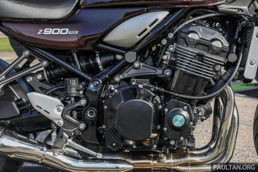 PANDANGAN AWAL: Kawasaki Z900RS – rupa sahaja klasik, tapi kualiti tunggangan dan kelengkapan moden Image #790621