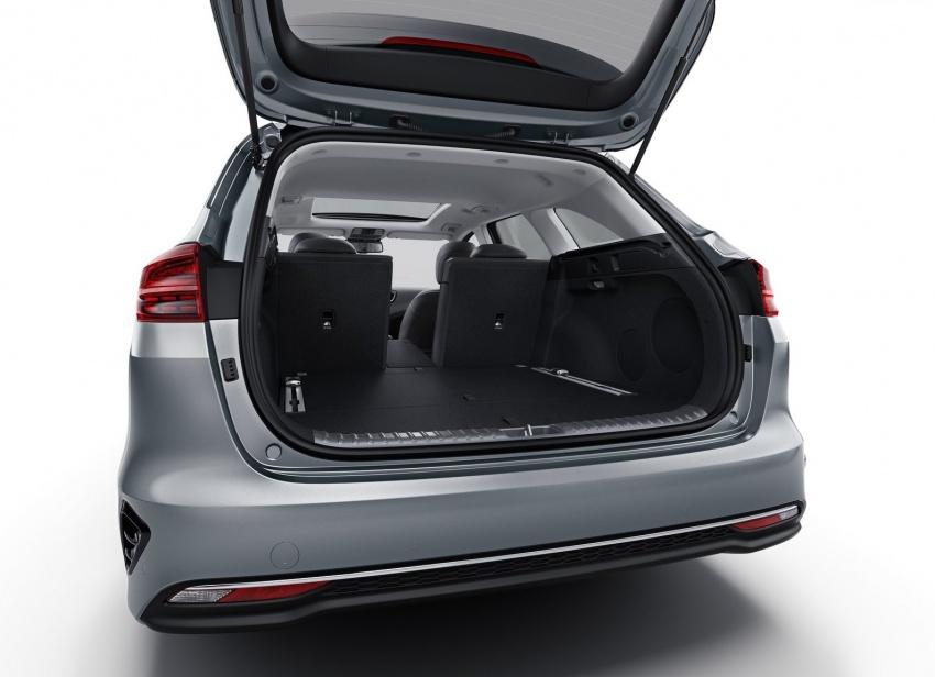 Kia Ceed Sportswagon – new 1.4 T-GDI, 600-litre boot Image #788697