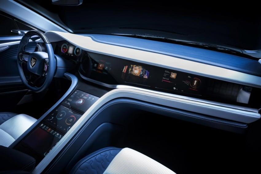 LVCHI Auto Venere – sedan elektrik mewah dari China, 996 hp dan tork 1,540 Nm, 0-100 km/j hanya 2.5 saat Image #788864